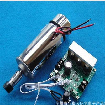 Upgrade -CNC ROUTER 0.4KW Spindle Motor 400W ER11 for Engraving Drilling Milling