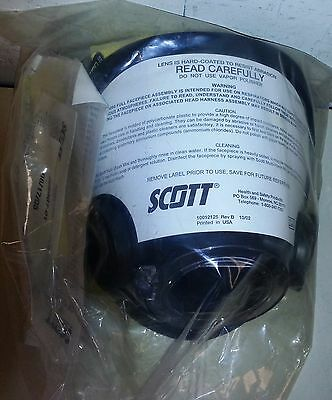 NEW Scott AV3000 AV 3000 SCBA Fire Rescue Mask M Medium NIB w/ Kevlar Head Piece
