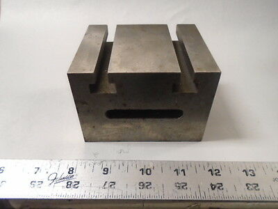 MACHINIST LATHE TOOL MILL Machinist T Slot Block Fixture Set Up Eclipse England