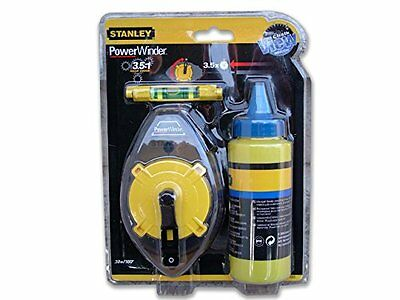 Stanley Powerminder Kit cordeau + poudre à tracer bleue 113 g (Import Grand