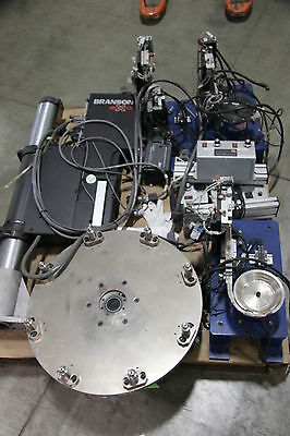 (1) Used Branson 2000X Ultrasonic Welder With Rodix Feeder System