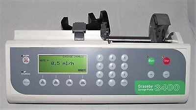 Graseby 3400 Anaesthesia Syringe Driver Infusion Pump Fluid Administration