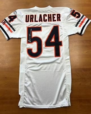 Chicago Bears BRIAN URLACHER Autographed Game Issued Jersey PSA/DNA NFL Auction