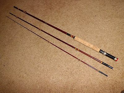 "Vintage Heddon Premier #125 8'-6"" Fly Rod made in USA- Line C-HCH"