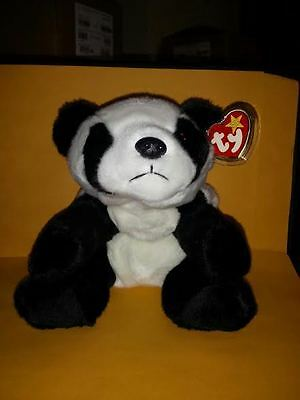 Ty Beanie Buddies Peking Panda Bear 1998
