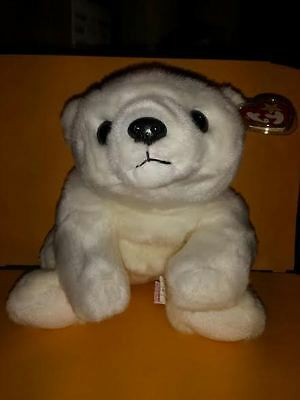 Ty Beanie Buddies Chilly Polar Bear 1998