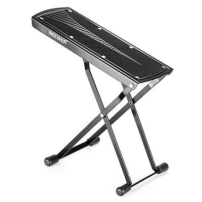 Neewer Heavy-Duty Extra Sturdy Guitar Foot Rest Made of Solid Iron
