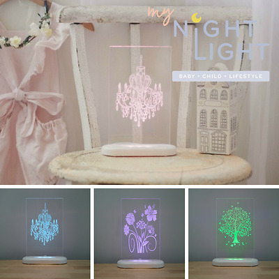 SLIM LIGHT Colour changing LED designer decor lighting