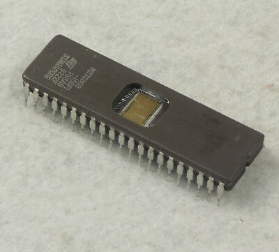 1PCS M27C800-100F1 Manu:ST Encapsulation:DIP-42,8 Mbit 1Mb x8 or 512Kb x16 UV