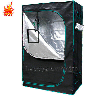 Mars 120x60x180cm Hydroponics Indoor Grow Tent Room Box 1680D 100% Reflective