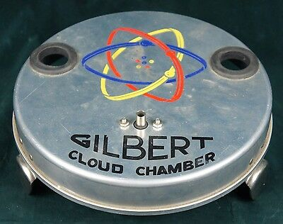 A C Gilbert Co CLOUD CHAMBER BASE for U-238 Atomic Energy Laboratory