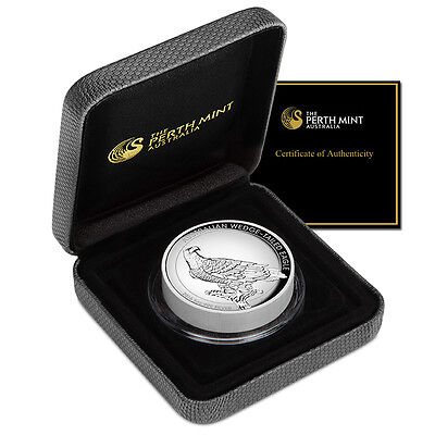 5 oz Silber Wedge-Tailed Eagle 2016 High Relief PP Australien