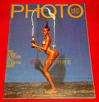 PHOTO HI FI ITALIANA N 86 1982 Grace Jones, New York, Tokyo