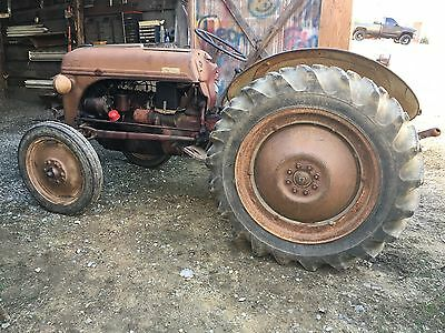 1950 Red Belly 8N Ford Tractor