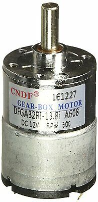 DC 12V 50mA 500RPM 0.3Kg-cm High Torque Permanent Magnetic Gear Motor
