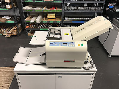 MBM 307A Fully Automatic Paper Folder, Fast Setup 11x17 USED - Serviced & Tested