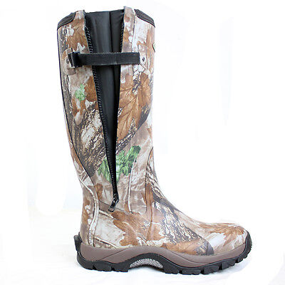 Dirt Boot® Neoprene Rubber Wellington Muck Boot Pro-Sport™ Hunt Zip Camo