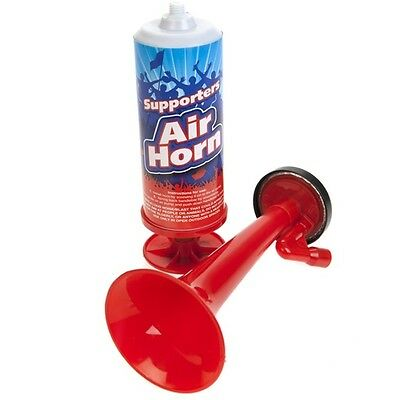 Large Hand Operated Air Horn Football Sports Loud Klaxon Pump Supporters Alarm