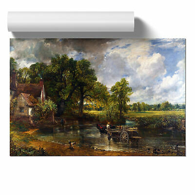 Poster Print Wall Art John Constable The Hay Wain Landscape Painting Home Décor