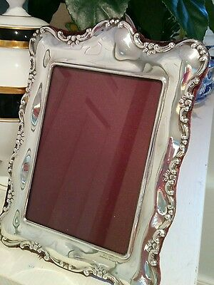 Beautiful handsome silver plated Sheffield antique photograph frame