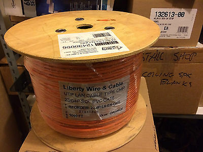 Liberty UTP LAN cable Type CMR 23/04P PVC CAT6 cable 1000 ft roll