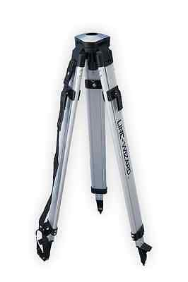 Line-Wizard Dome Head Aluminum Contractor's Survey Tripod (Clearance Sale!)