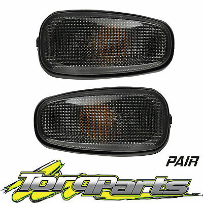 Pair Smokey Indicators Suit Holden Vy Vz Commodore  Side Blinkers Indicator