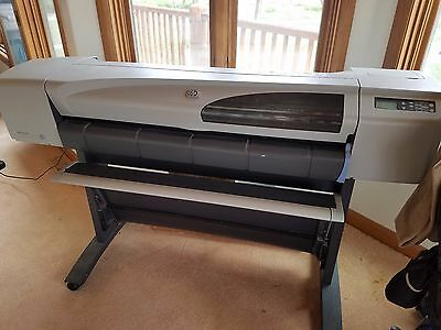 "HP DesignJet 500 42"" Large Format Printer Plotter"