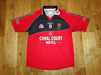 Down Ulster GAA match worn / issue Gaelic Football Jersey No. 9