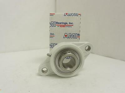 "144322 New In Box, AMI MUCNFL207-20W Flange Bearing, 1-1/4"" ID, 2-Bolt"