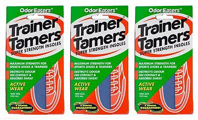 Odor-eaters Trainer Tamers - Pack of 3