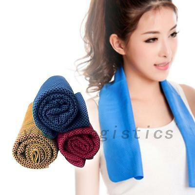 Gym Sports Jogging Instant Cooling Towel Ice Cold Chilly Pad