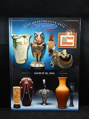 Morphy Auction Catalog Fine and Decorative Arts March 20, 2016 BRAND NEW