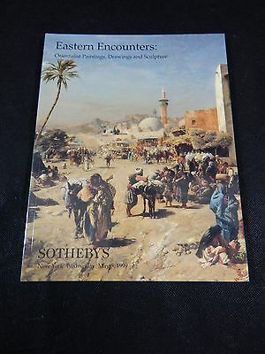 """Sotheby's Auction Catalog """"orientalist Paintings, Drawings & Sculptures"""" 1999"""