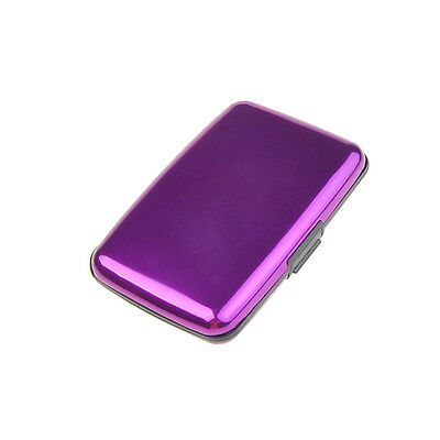 Waterproof Business ID Credit Card Wallet Holder Aluminum Metal Case