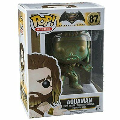Batman v Superman: Dawn of Justice - Aquaman (Patina) US Exclusive Pop! Vinyl