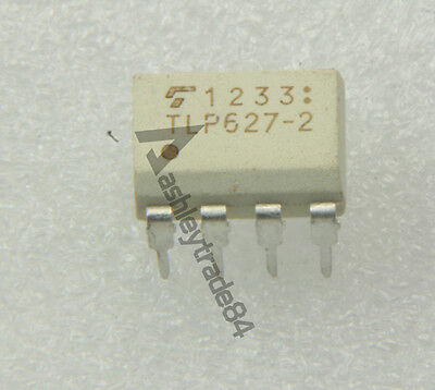 10PCS TLP627-2 Manu:TOSHIBA Encapsulation:DIP,Double Photocoupler Consisting of