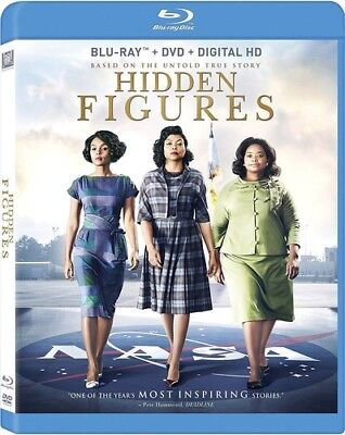 Hidden Figures [New Blu-ray] With DVD, Widescreen, Ac-3/Dolby Digital, Digital