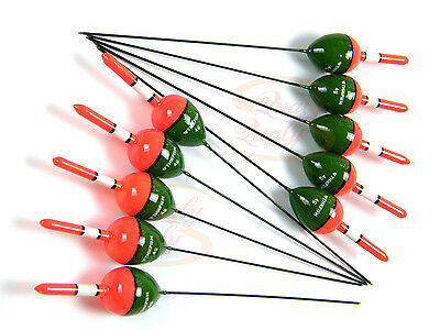 10 Pcs 4g THKFISH Vertical Buoy Paulownia Wood Fishing Floats Bobbers Bulk Set