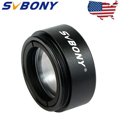 """1.25"""" 31.7mm Telescope 0.5X Focal Reducer Threaded for M28x0.6 Eyepiece US Local"""