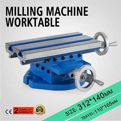 "Multifunction Milling Machine Worktable Cross Slide Table 13""x 6"" Workholding"