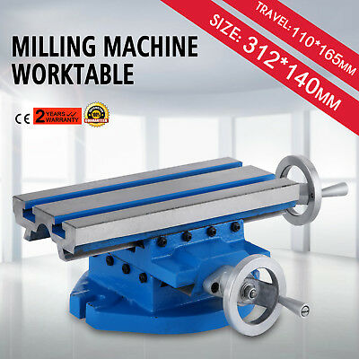 "Milling Machine Worktable Cross Slide Table 13""x 6"" Workholding Multifunction"
