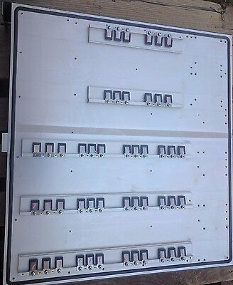 """Aluminum Heat Sink large huge big giant  24""""x22""""x3""""   with mounting bars / clips"""