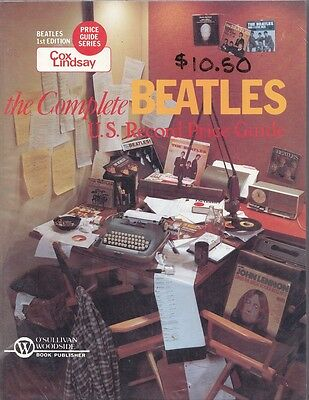 Complete BEATLES U.S. Record Price Guide Perry Cox /Lindsay 1983 Paperback 1st E