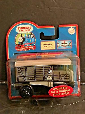 Thomas The Tank & Friends-Wooden Toad Brake Van 2006 Collector Card