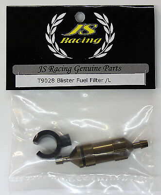 JS Racing High Quality INLINE FUEL FILTER LARGE *Free Shipping if combined*