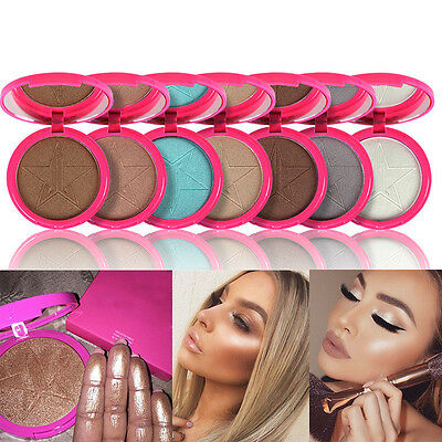 10Colors Skin Beauty Makeup Frost Highlighter Face Shadows Glow Kit Powders