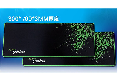 700*300*3MM Rubber Razer Goliathus Mantis Speed Game Mouse Pad Mat Large XL New