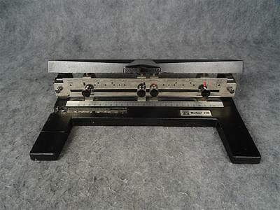 Acco Mutual 450 Heavy Duty Adjustable 3 Hole Puncher