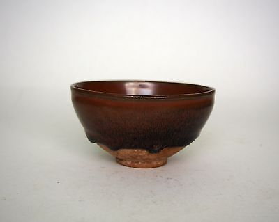 A Chinese Hare's Fur Tea Bowl